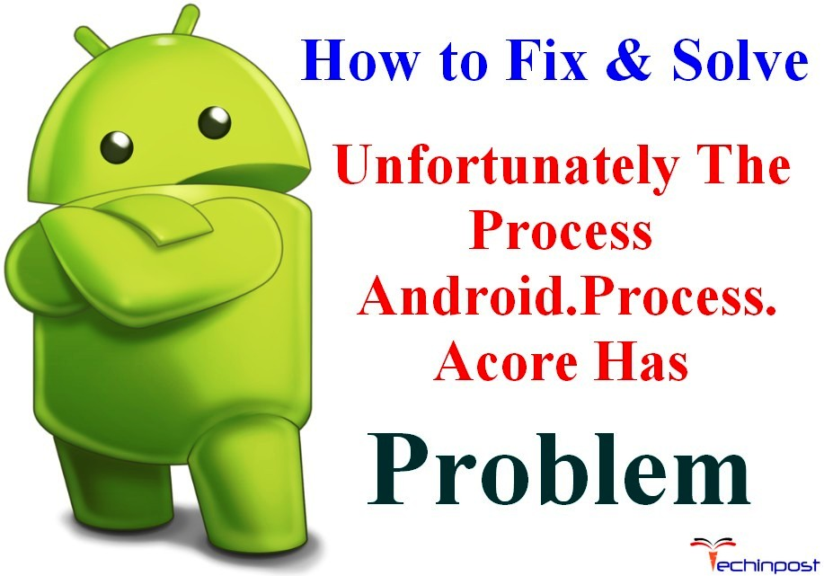 Fixed Unfortunately The Process Android Process Acore