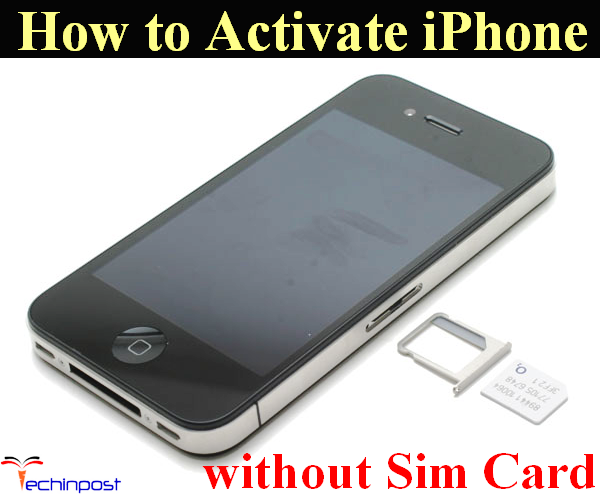 GUIDE] How to Activate iPhone without Sim Card Activation Step by Step