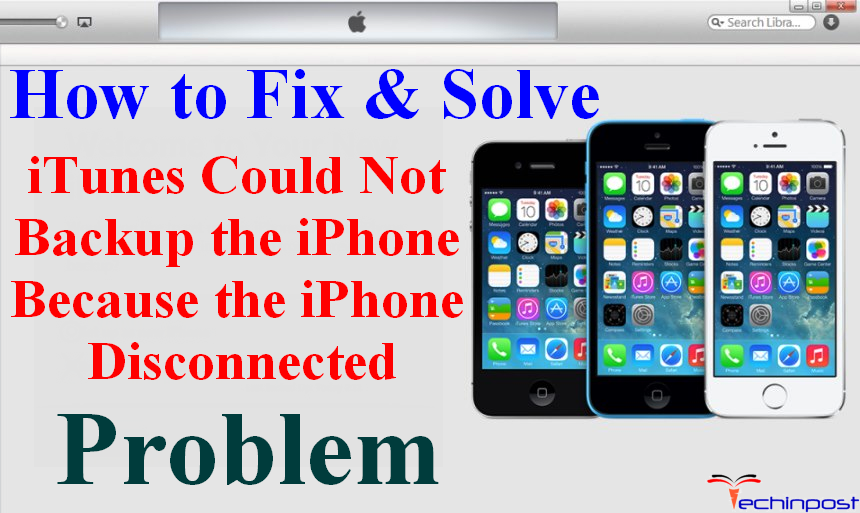 how to fix iphone restore disconnected